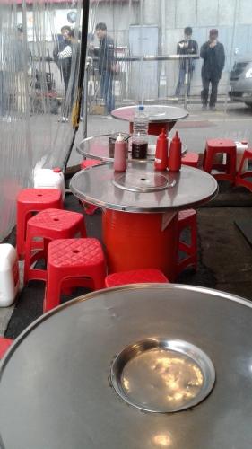 coree, street food,