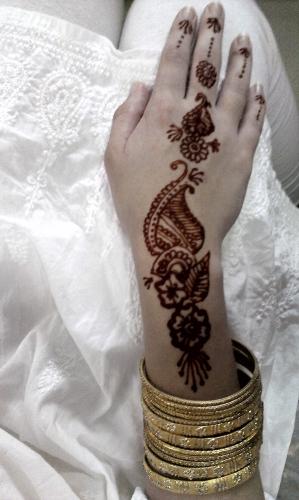 deepavali,henné