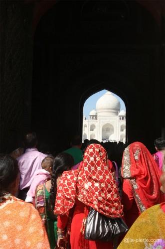 inde,Agra, Taj Mahal